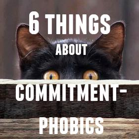 Do commitment phobes regret