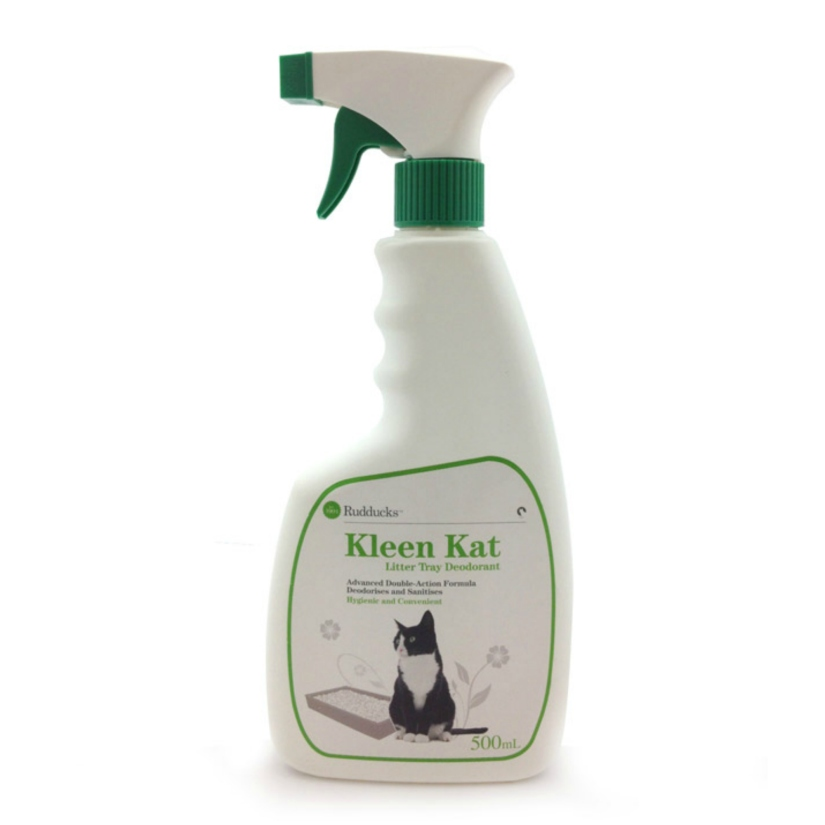 Gera's Product Review: Rudducks Kleen Kat Litter Box Odour Spray