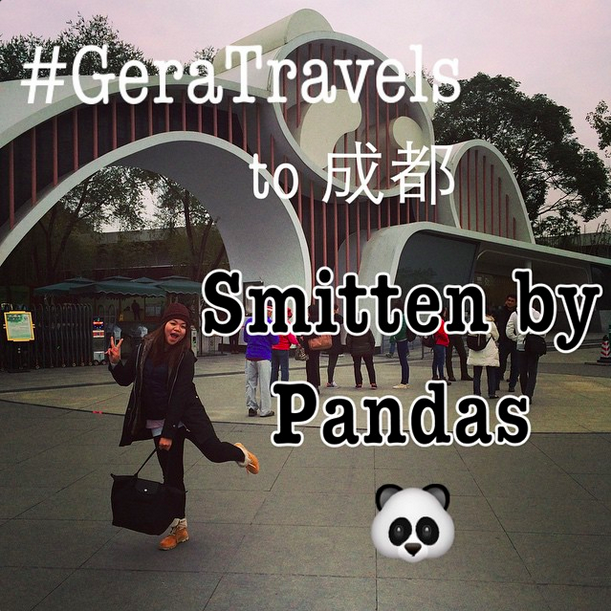 #GeraTravels to 四川: Smitten By Pandas