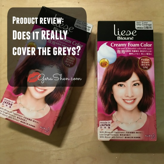 Liese Blaune Creamy Foam Color Review