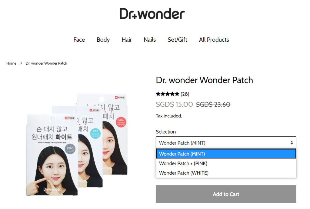 Dr. wonder Wonder Patch Product Review by Gera Shen
